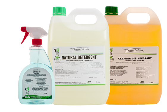 Biodegradable cleaning products